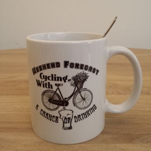 Funny Bike Mugs