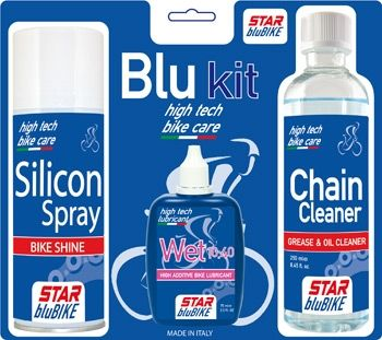 StarBluBike Blu Kit Bicycle cleaning and lubrication set