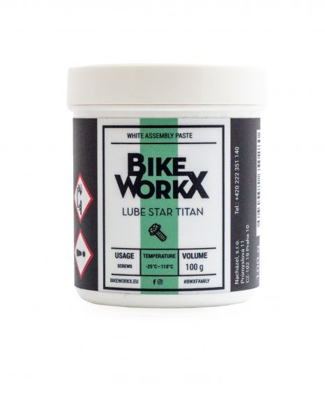 BikeWorkx Lube Star Titan - assembling paste- can- 100g