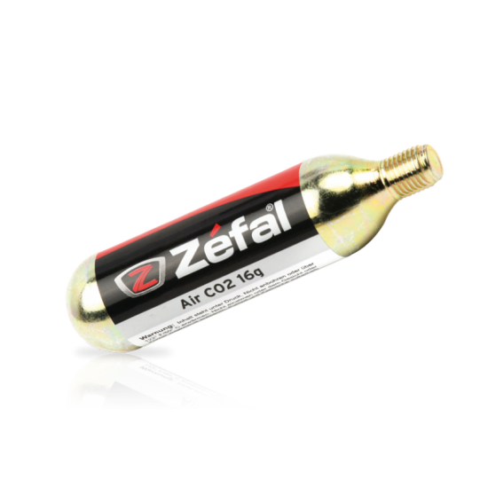 ZEFAL CO2 CARTRIDGE/PATRONEN 16g threaded