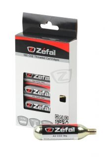 ZEFAL CO2 CARTRIDGE/PATRONEN 6x16g threaded