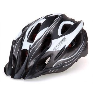 Helmet DRAG X3M-in Uni silver/black/white
