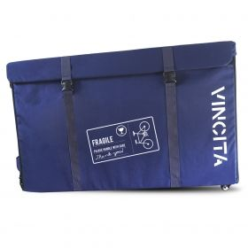 VINCITA SEMI HARD BIKE CASE WITH WHEELS