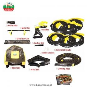 H.I.R.T.S. Strong 6-in-1: COMPLETE SET  RESISTENT ROPES WITH ACCESSORIES